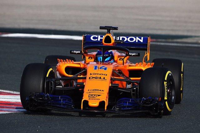 Fernando Alonso (McLaren) estrena el MCL33