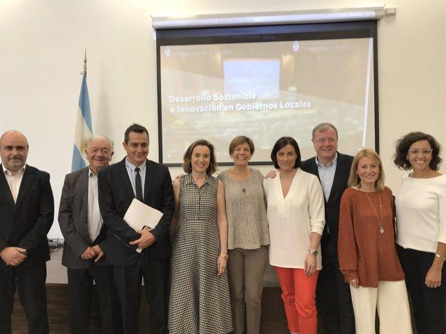 La alcaldesa de Logroño participa en jornada cooperación en Buenos Aires