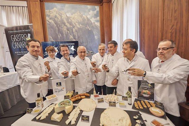 Presentación de Gastrocanarias