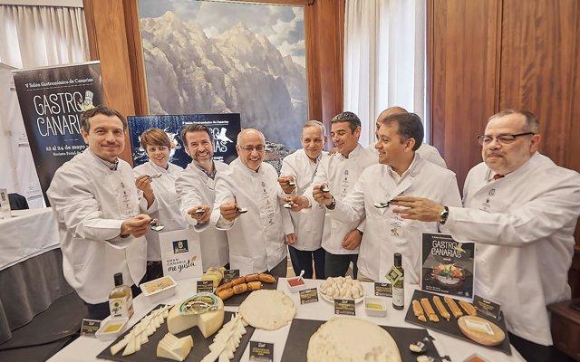 'Gastrocanarias' reunirá por primera vez a las siete islas