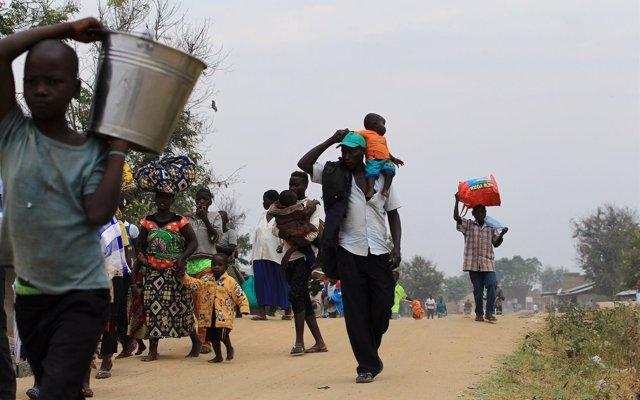 La ONU denuncia la falta de fondos para afrontar la creciente crisis humanitaria en RDC