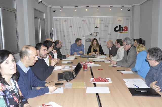 Reunión del Consello Nazional de CHA.