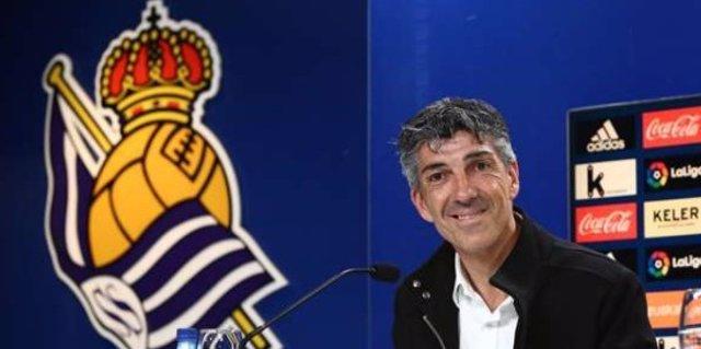 Imanol Alguacil Real Sociedad