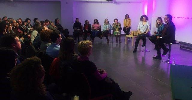 Celebración del PSOE de Huelva del Día Internacional de la Mujer