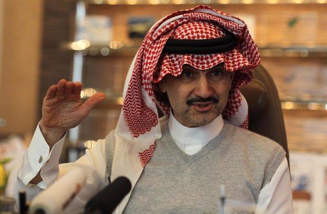 El Príncipe Alwaleed Bin Talal De Arabia Saudí
