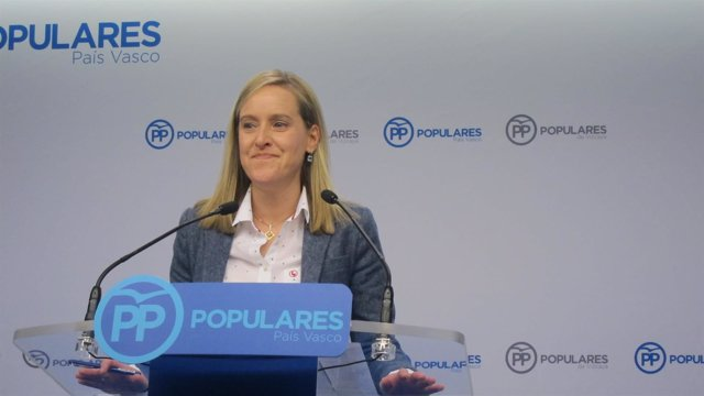 Foro de archivo de la secretaria general del PP vasco, Amaya Fernández