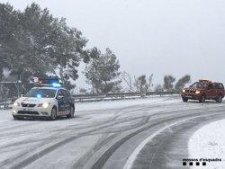 Aixequen la restricció a vehicles pesats a les principals carreteres catalanes (MOSSOS D'ESQUADRA)