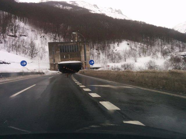 Autopista del Huerna, en una imagen de archivo