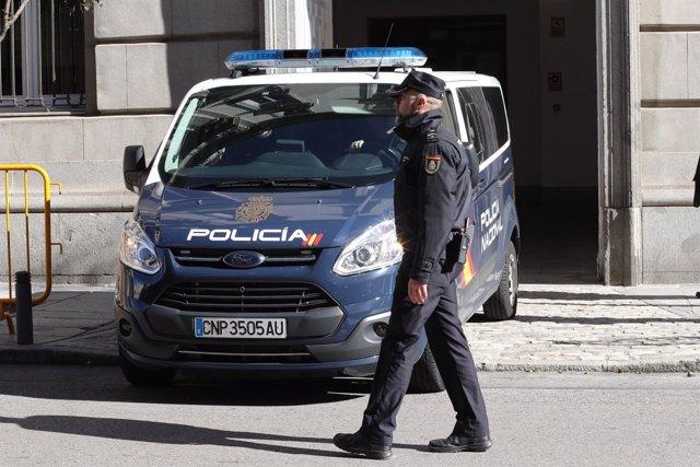 El expresidente de la ANC Jordi Sanchez llega al Supremo en furgón policial