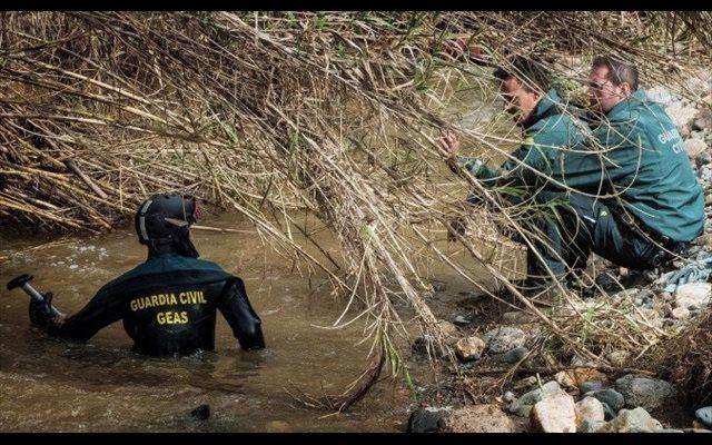 Localizado el cadáver del guardia civil desaparecido en un arroyo de Guillena (Sevilla)