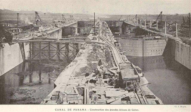 Proyecto del canal de panamá