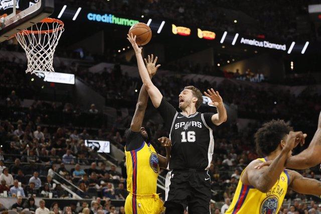 Pau Gasol en el San Antonio Spurs - Golden State Warriors