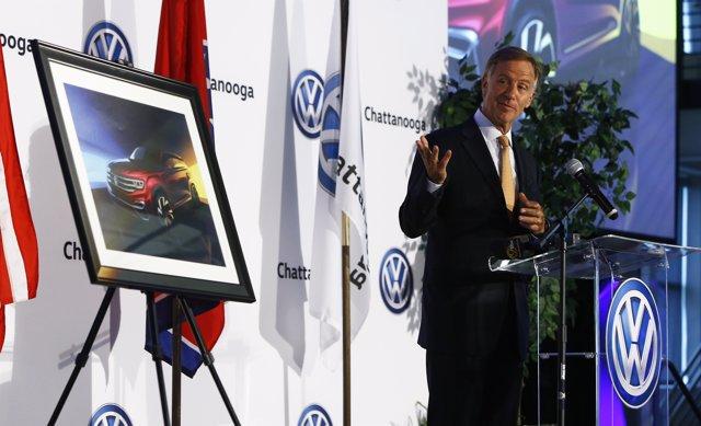 Volkswagen producirá un nuevo todocamino de cinco plazas en Chattanooga (EEUU)