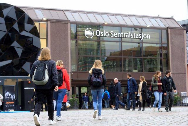 Estación central de Oslo