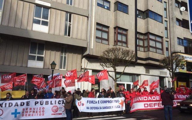 El PPdeG aprueba entre protestas la reforma que reduce a 7 las áreas sanitarias
