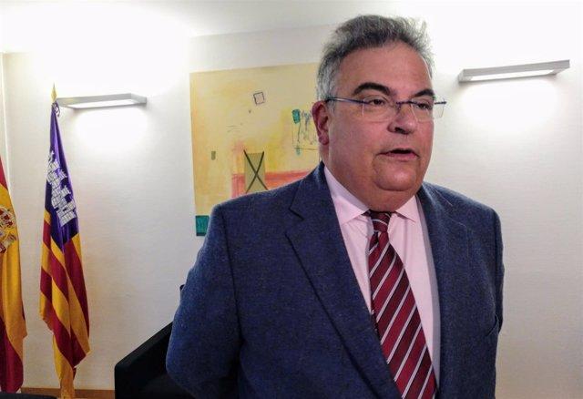 El Fiscal Superior De Baleares, Bartomeu Barceló. 20 De Marzo