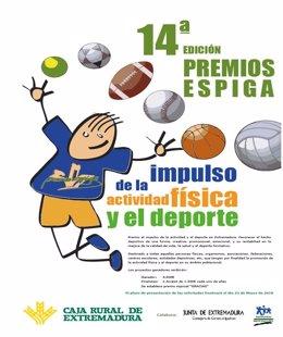 Cartel del Premio Espiga al Deporte