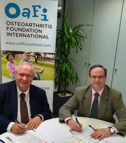 Farmacéuticos comunitarios y OAFI colaborarán para mejorar la prevención e información de la artrosis