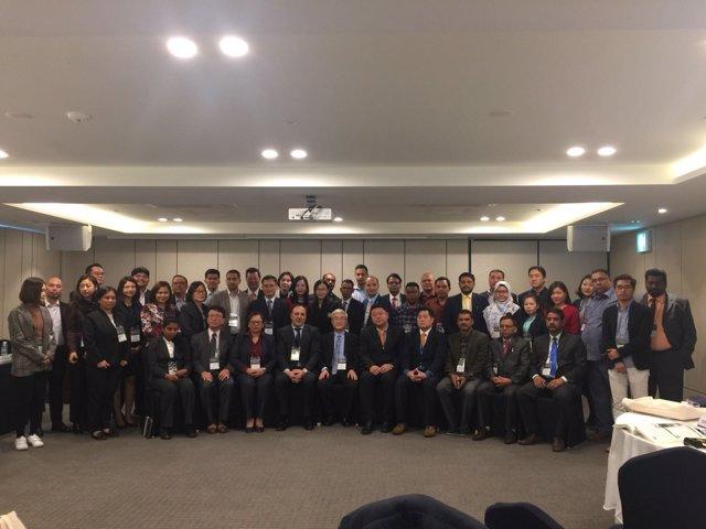 Cifal Málaga en un curso en Corea