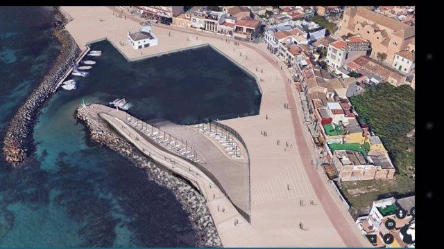 Puerto del Molinar en Palma de Mallorca