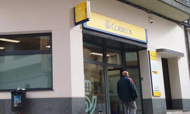 Nueva oficina de Correos en Valderrobres.