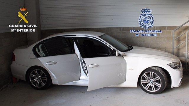 Uno de los coches usados por el grupo criminal 20-3-2018