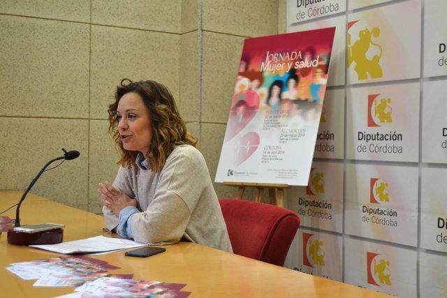Guijarro presenta las jornadas 'Mujer y Salud'