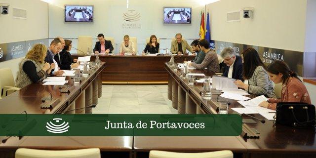 Junta de Portavoces del 20 de marzo
