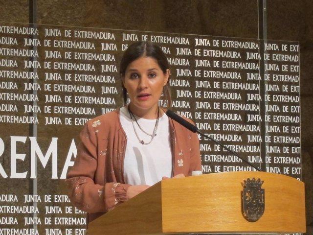La portavoz de la Junta, Isabel Gil Rosiña