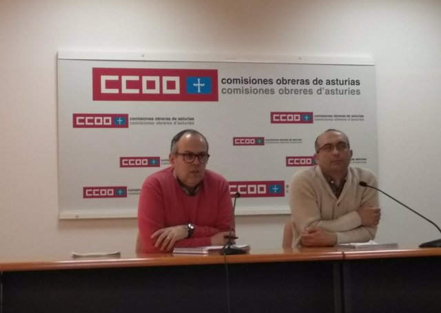 Rueda de prensa CCOO.