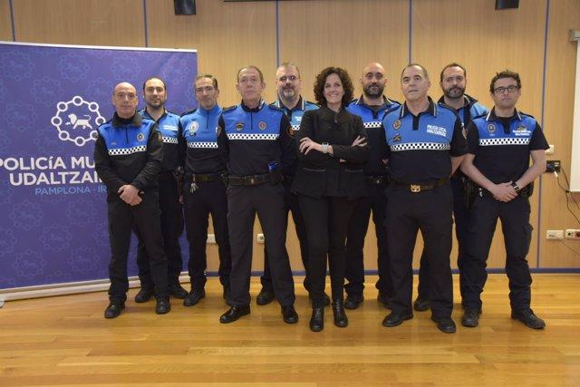 Firma del convenio de colaboración de las Policías Municipales de la Comarca