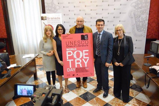 Presentación de actividades del Día Mundial de la Poesía 2018