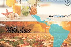 Adiós al verano en Iberoamérica: el otoño se adelanta un día ¿por qué?