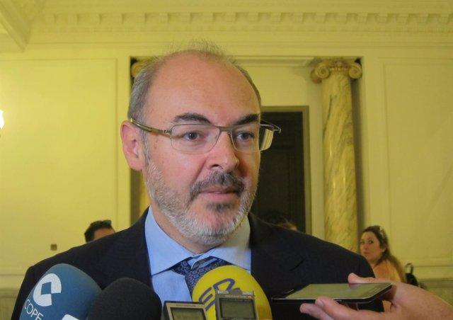 El portavoz del PP en el Ayuntamiento de València, Eusebio Monzó