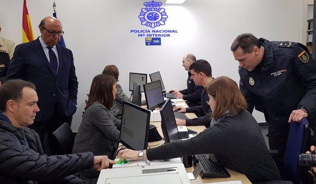 Nota Prensa 20 Marzo Inauguracion Oficina Policia Dni Pasaportes Castro Urdiales