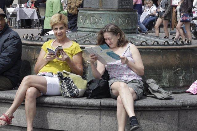 Turismo, turistas, extranjeros