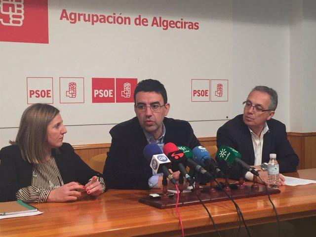 MArio Jiménez en rueda de prensa en Algeciras