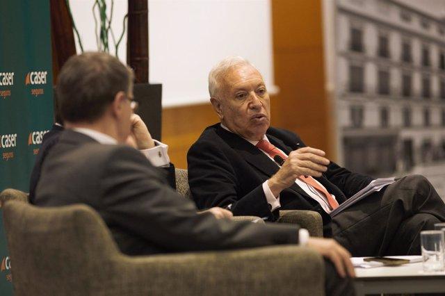 García Margallo en un coloquio en Málaga
