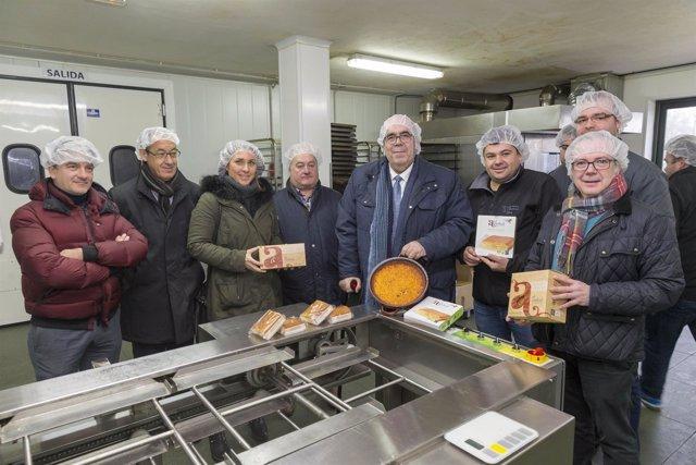 Miembros de Medio Rural visitan El Andral