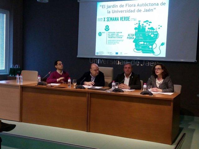 Presentación de la Rivasmartinezia Cazorlana en la X Semana Verde de la UJA.
