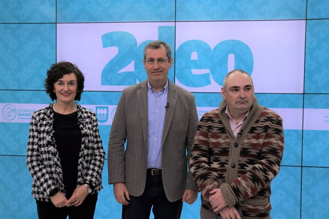 Maite Iturbe, Markel Olano y Luistxo Fernández