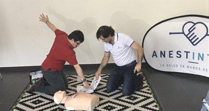 Anest Intens y la Fundación Aprocor realizarán acciones formativas en reanimación cardiopulmonar para discapacitados