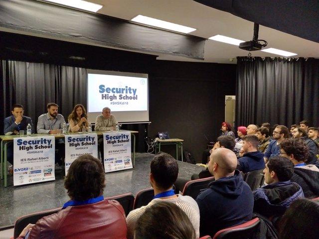 Jornadas de Seguridad Informática en el IES Rafael Alberti de Cádiz
