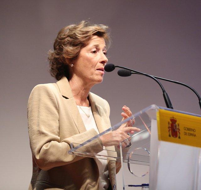 Julia Navarro en la presentación de la campaña No piratees tu futuro