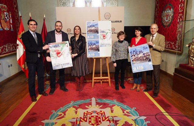 Presentación de las carreras de 5 y 10 kilómetros de Pedrajas 20-3-2018