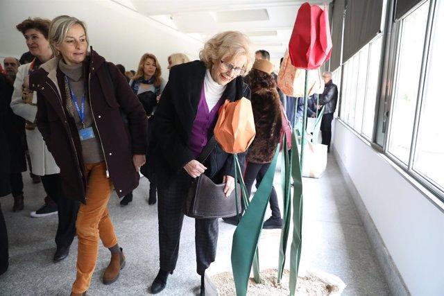 Carmena en la muestra 'Tulipa tulipae'