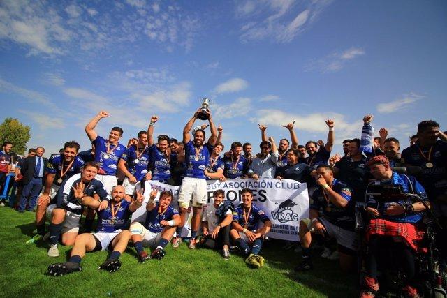 VRAC Quesos Entrepinares Supercopa rugby