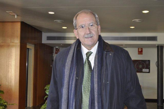 El gerente de Aragón Plataforma Logística (APL), Francisco de la Fuente