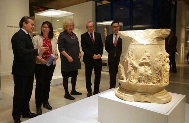 La muestra 'La competición en la antigua Grecia' en CaixaForum Sevilla