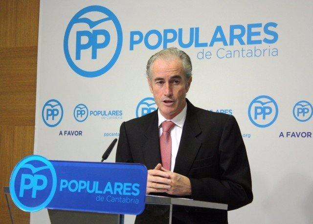 El diputado del PP y alcalde de Arnuero, José Manuel Igual